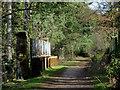 SO8890 : Dismantled Railway, near Himley, Staffordshire by Roger  Kidd