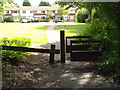 SP1482 : Open space south of Hob's Moat, Olton by Robin Stott