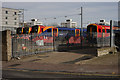 TQ2675 : Sidings at Clapham Junction by Peter Trimming