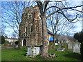 TQ4282 : St Mary Magdalene Churchyard, East Ham by Marathon