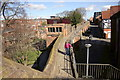 SJ4066 : Chester City Walls from St Martin's Gate by Jeff Buck