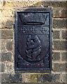 SP1482 : Warwickshire emblems, Ulverley School gates, Rodney Road, Olton by Robin Stott