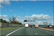 SE4726 : A1(M) near Water Fryston by Robin Webster