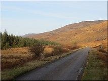 NM5630 : A849, Glen More by Richard Webb