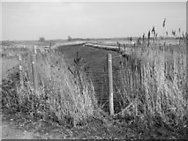 TG3504 : Drainage ditch beside the river by Evelyn Simak