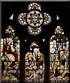 TQ2578 : St Luke, Redcliffe Gardens - Stained glass window by John Salmon