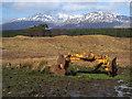 NN1120 : Farm equipment near Accurrach by sylvia duckworth