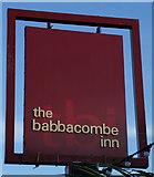 SX9265 : The Babbacombe Inn on Babbacombe Downs Road by Ian S