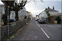 SX9265 : Bedford Road off St Albans Road, Babbacombe by Ian S