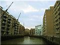 TQ3379 : St Saviour's dock, Bermondsey by Stephen Craven