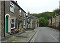 SK0181 : Bridge Street in Whaley Bridge, Derbyshire by Roger  Kidd