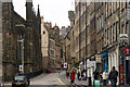 NT2573 : The narrowing Royal Mile by Chris Denny