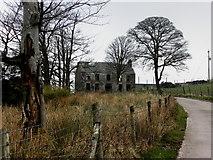 H6160 : Ruined farmhouse, Tullyglush by Kenneth  Allen