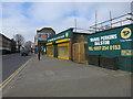 TQ3485 : Travis Perkins, Dalston Lane by Hugh Venables