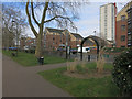TQ3485 : Edge of Hackney Downs by Hugh Venables