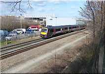SK5802 : Train on the Midland Main Line by Mat Fascione