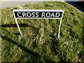 TM2283 : Cross Road sign by Geographer