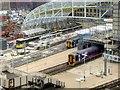 SJ8499 : Victoria Station Refurbishment (March 2015) by David Dixon