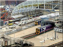 SJ8499 : Victoria Station Refurbishment (March 2015) by David Dixon