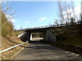 TM2180 : Grove Road & A143 Bungay Road Bridge by Adrian Cable