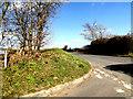 TM2280 : High Road, Brockdish by Geographer