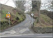 SE0419 : Fiddle Lane - Ripponden New Bank by Betty Longbottom