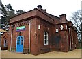 SP8365 : Sywell Reservoir Pump House by Rob Farrow