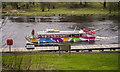 H2442 : The MV 'Kestrel' near Enniskillen by Rossographer