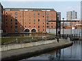 SJ8498 : Rochdale Canal Warehouse, Tariff Street by Chris Allen