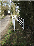 TM2281 : Path & Mill Lane by Adrian Cable