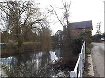 TM2281 : Mill Pond off Mill Lane by Adrian Cable