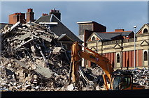 SK5804 : The remains of the New Walk Centre by Mat Fascione