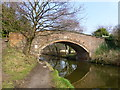 SJ5782 : Keckwick Hill Bridge on the Bridgewater Canal by Raymond Knapman
