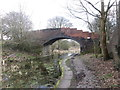 SD7706 : Bridge 16, Manchester Bolton & Bury Canal by John Slater