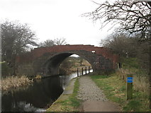 SD7908 : Bridge 19 Manchester Bolton & Bury Canal by John Slater