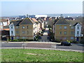 TQ4580 : View from Gallions Hill by Marathon