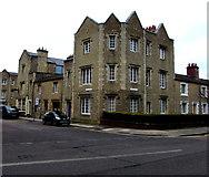 SU1484 : Corner of Bristol Street and Emlyn Square, Swindon by Jaggery