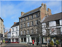 NY9364 : Market Place, NE46 by Mike Quinn