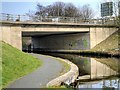 SD8437 : Leeds and Liverpool Canal, Lindred Bridge by David Dixon
