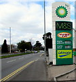 ST3091 : Fuel prices creeping upwards in March 2015, Malpas, Newport by Jaggery