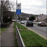 ST3091 : Unsuitable for heavy goods vehicles sign, Malpas Road, Newport by Jaggery