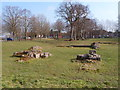 SJ9049 : Ruined foundations of Hulton Abbey by Chris Beaver