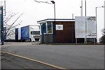 SD8131 : Billington Road Entrance to VEKA Factory by David Dixon