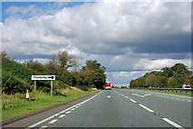 SE4395 : A19 - right turn for Thimbleby ahead by Robin Webster