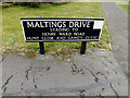 TM2483 : Maltings Drive sign by Adrian Cable