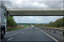 SK7273 : A1 approaching Markham Moor junction by Robin Webster