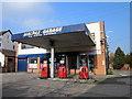SJ4847 : Malpas Garage by Jeff Buck