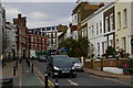 TQ2080 : Church Road, W3, looking uphill towards Acton High Street by Christopher Hilton