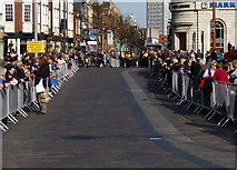 SK5804 : Crowds lining the High Street by Mat Fascione