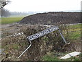TM2587 : Clintergate Road sign by Adrian Cable